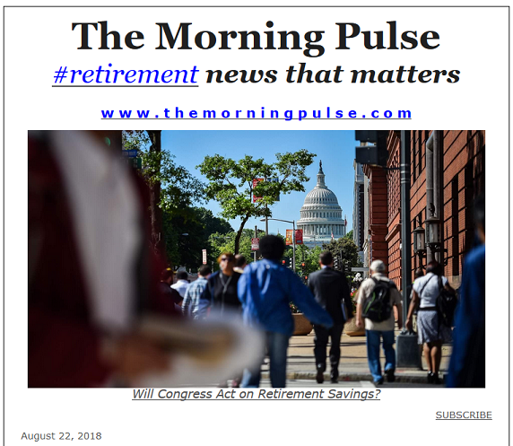 The Morning Pulse – August 22, 2018