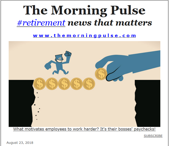 The Morning Pulse – August 23, 2018