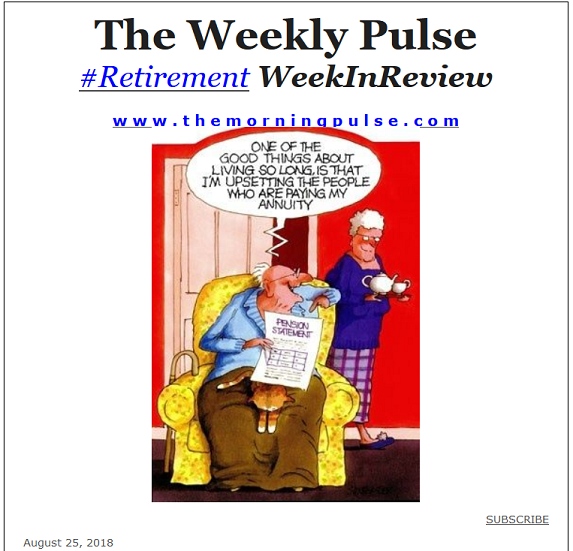 The Weekly Pulse – August 25, 2018
