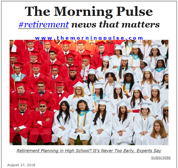 The Morning Pulse – August 27, 2018
