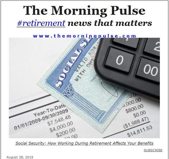 The Morning Pulse – August 28, 2018
