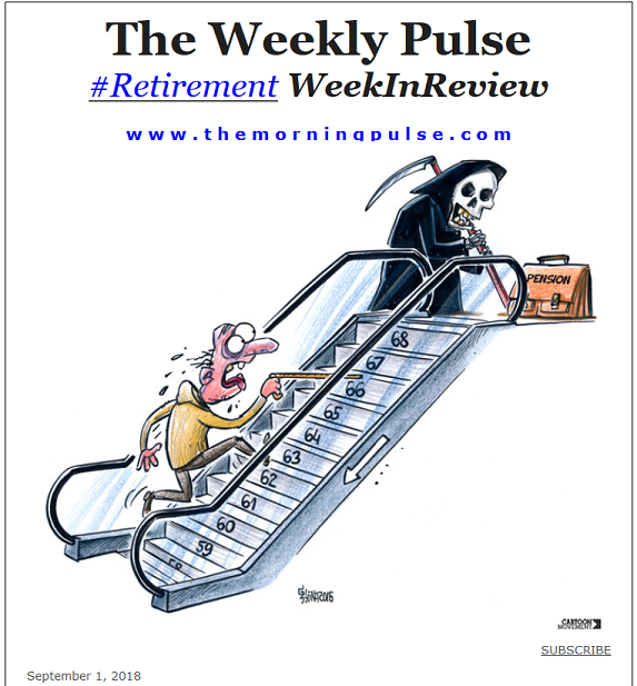 The Weekly Pulse – September 1, 2018