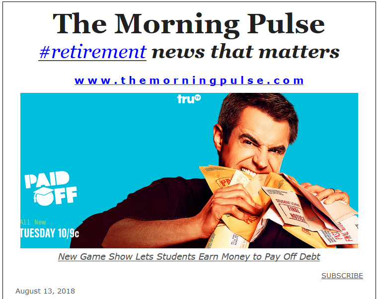 The Morning Pulse – August 13, 2018