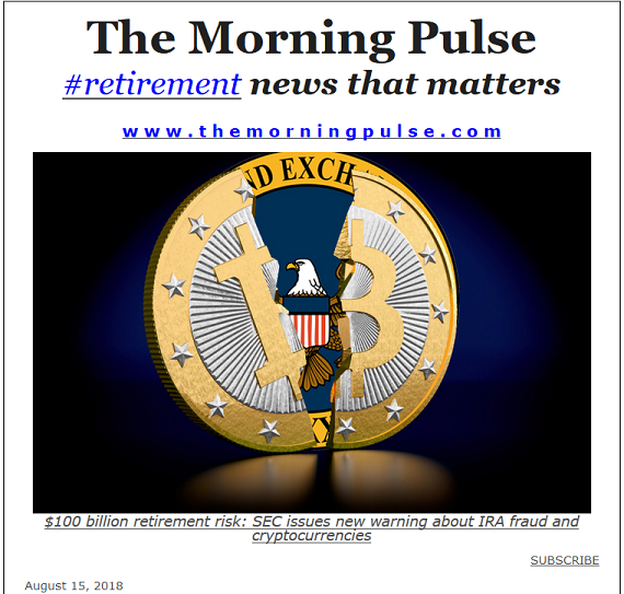 The Morning Pulse – August 15, 2018