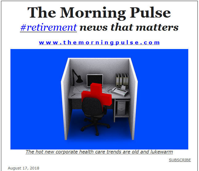 The Morning Pulse – August 17, 2018