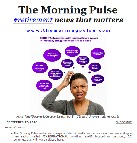 The Morning Pulse – September 17, 2018