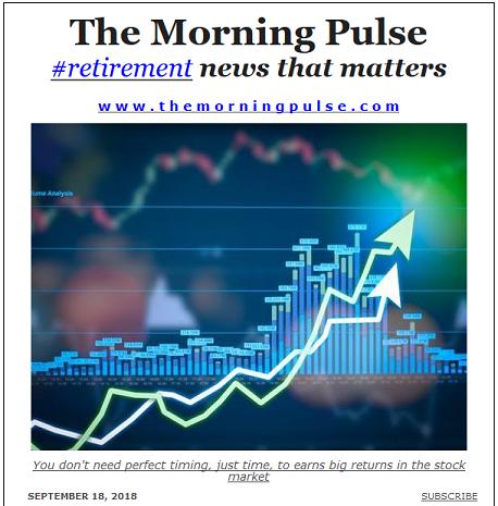 The Morning Pulse – September 18, 2018