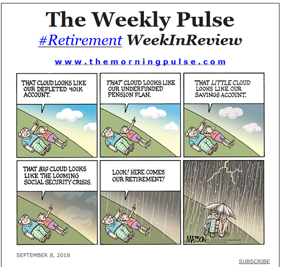 The Weekly Pulse – September 8, 2018