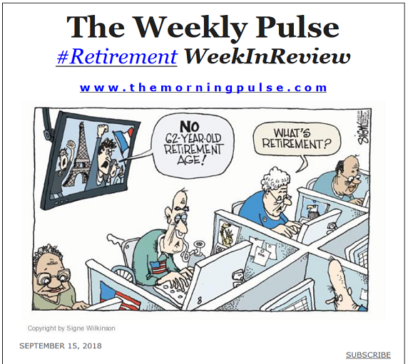 The Weekly Pulse – September 15, 2018