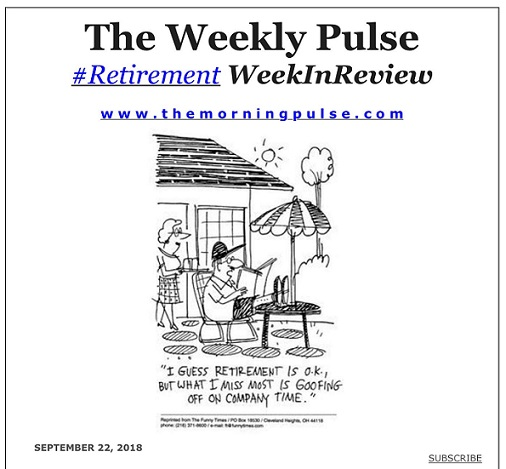 The Weekly Pulse – September 22, 2018