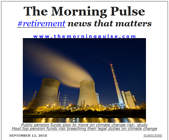 The Morning Pulse – September 12, 2018