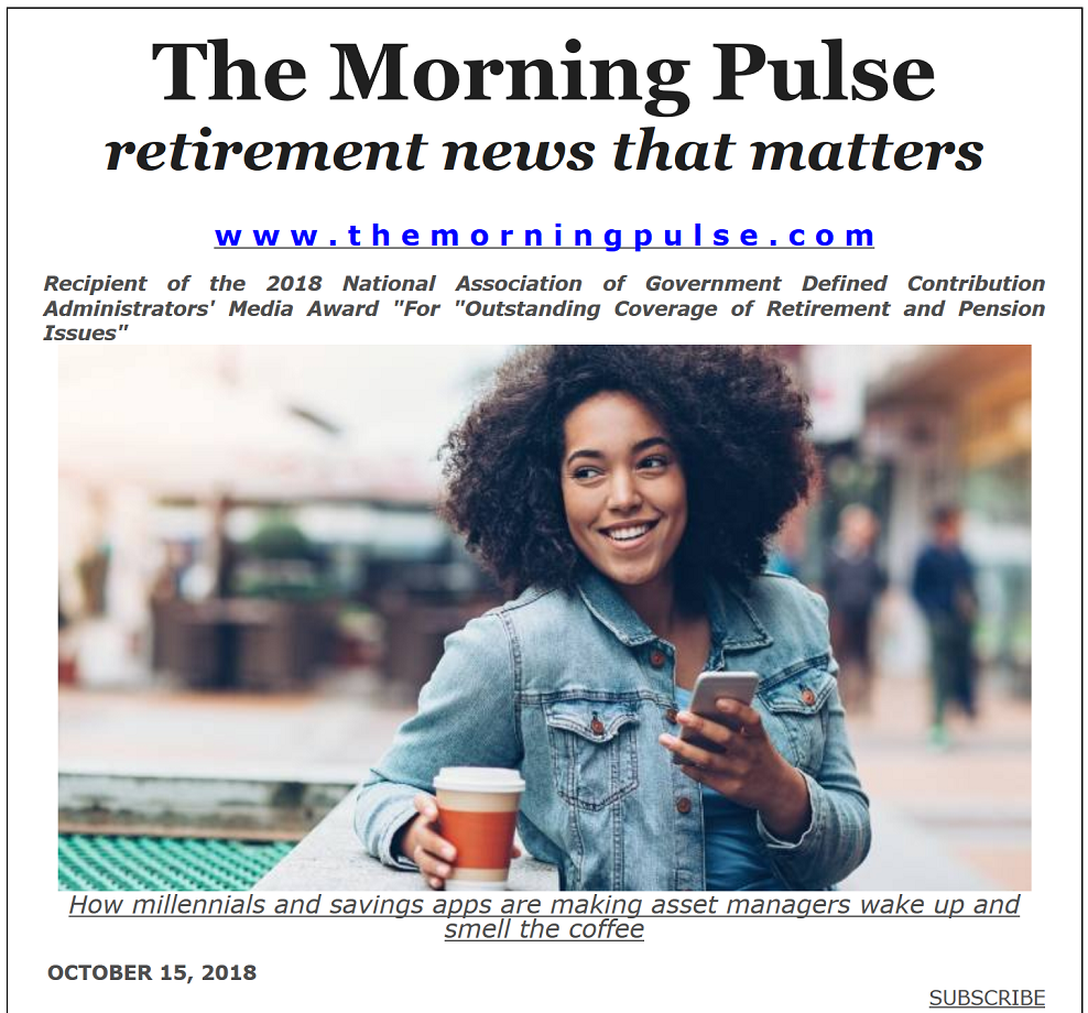 The Morning Pulse – October 15, 2018