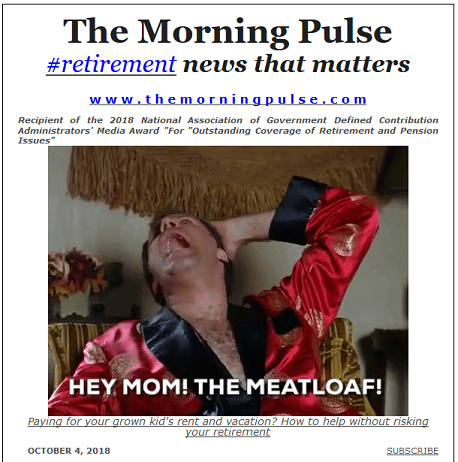 The Morning Pulse – October 4, 2018