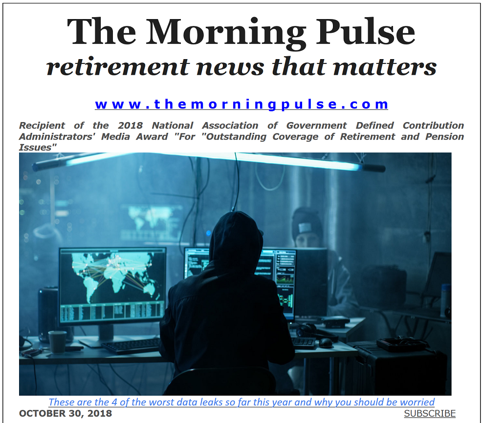 The Morning Pulse – October 30, 2018