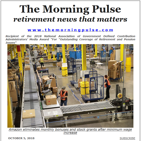 The Morning Pulse – October 5, 2018