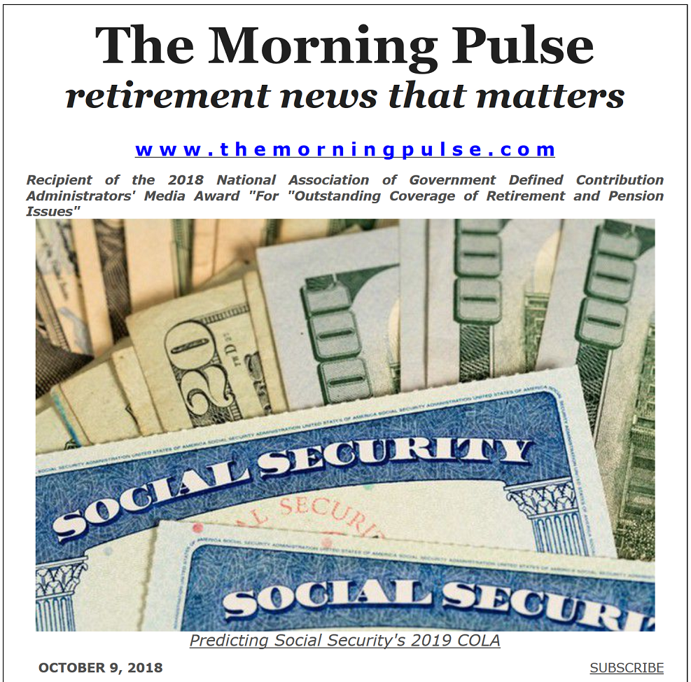 The Morning Pulse – October 9, 2018