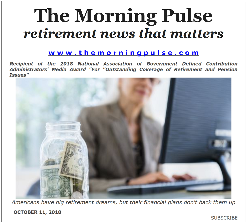 The Morning Pulse – October 11, 2018