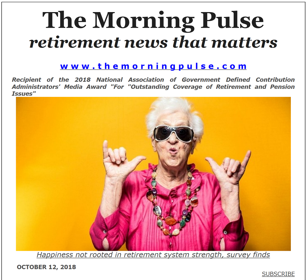 The Morning Pulse – October 12, 2018