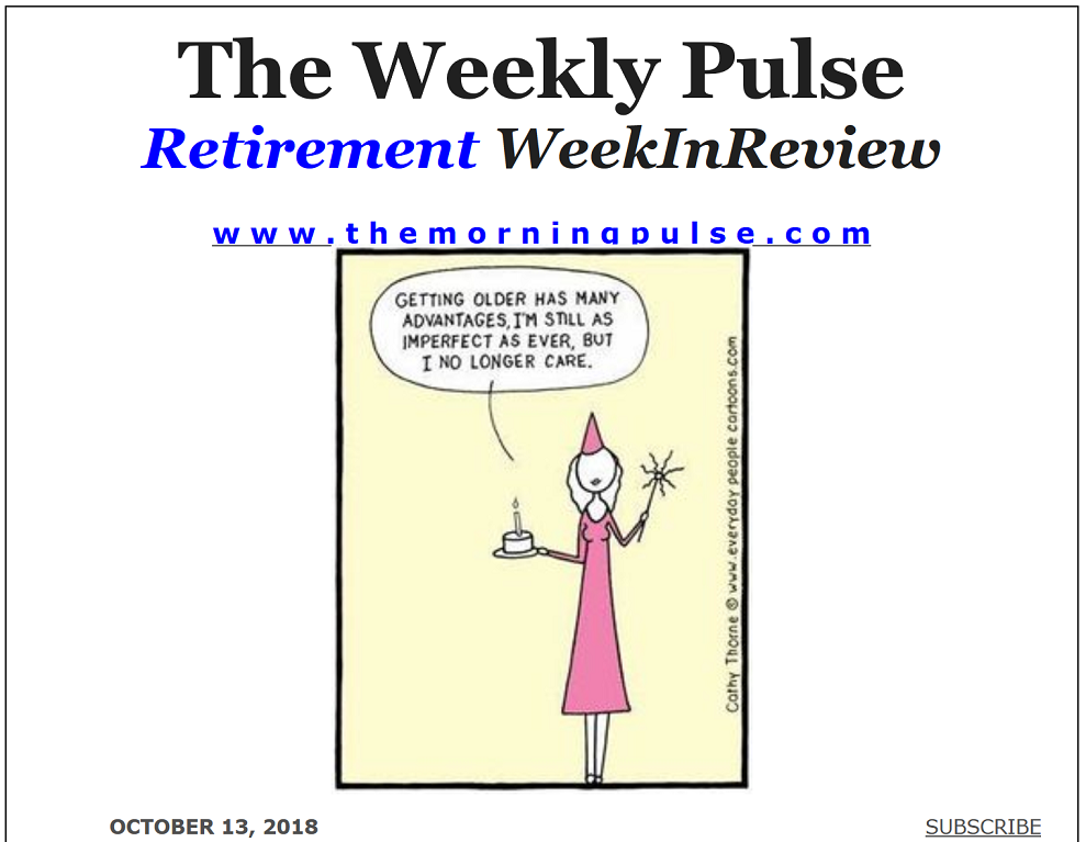 The Weekly Pulse – October 13, 2018