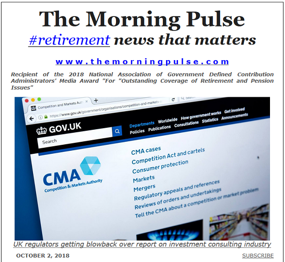 The Morning Pulse – October 2, 2018