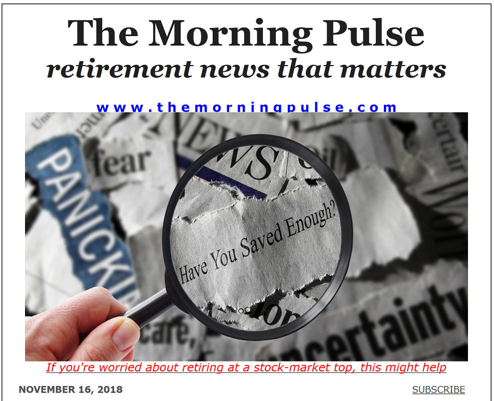 The Morning Pulse – November 16, 2018