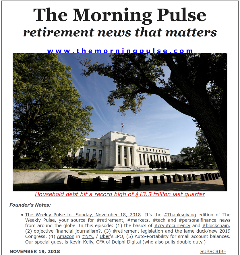 The Morning Pulse – November 19, 2018