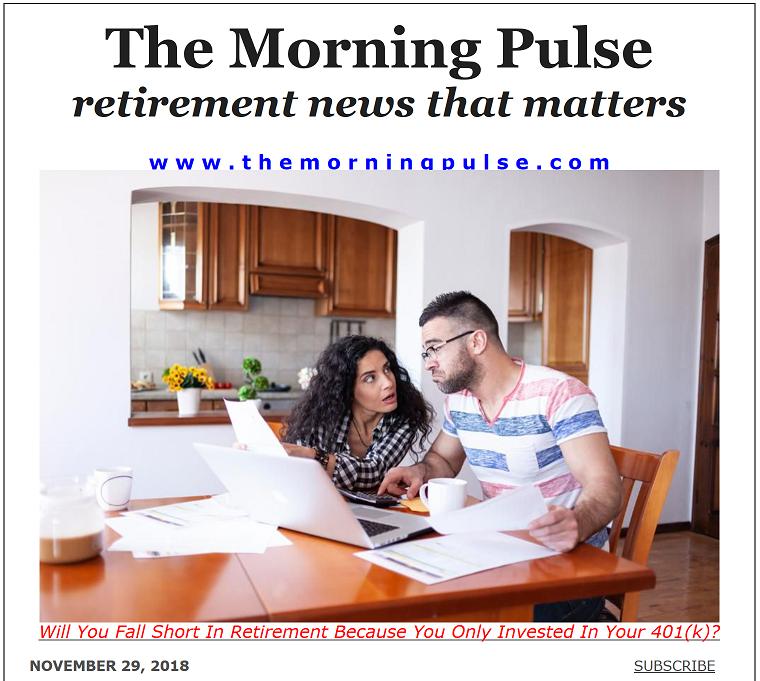 The Morning Pulse – November 29, 2018