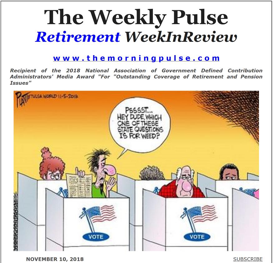 The Weekly Pulse – November 10, 2018