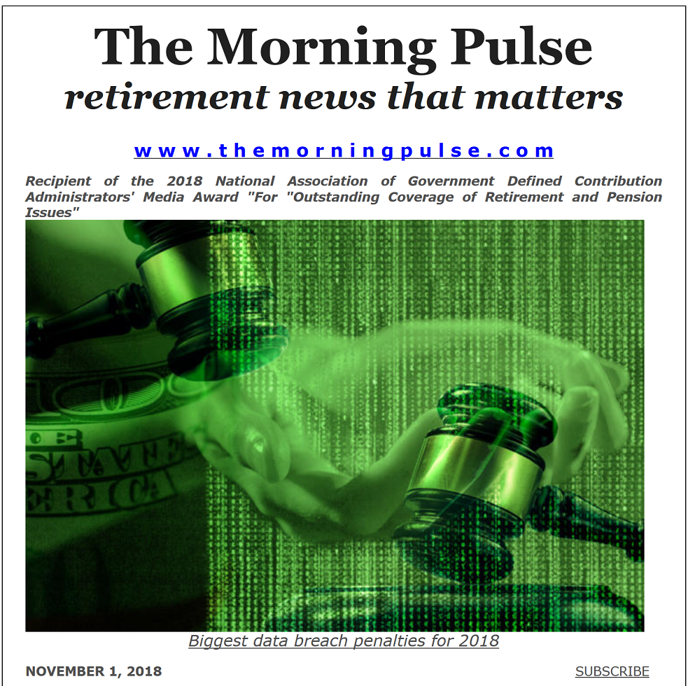 The Morning Pulse – November 1, 2018