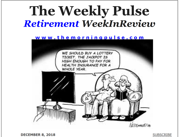 The Weekly Pulse – December 8, 2018