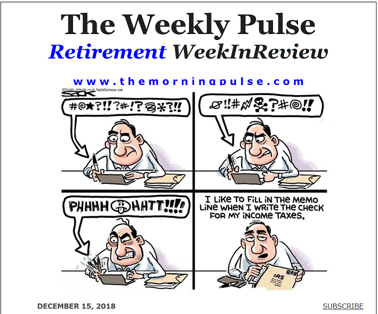 The Weekly Pulse – December 15, 2018