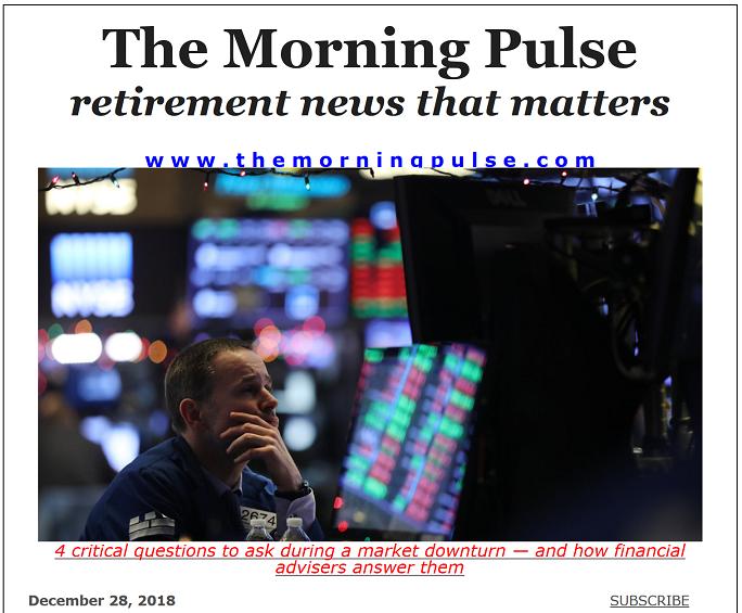 The Morning Pulse – December 28, 2018