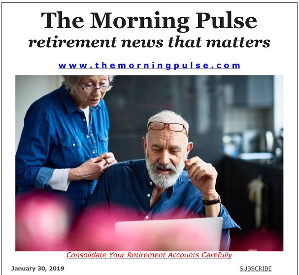 The Morning Pulse – January 30, 2019