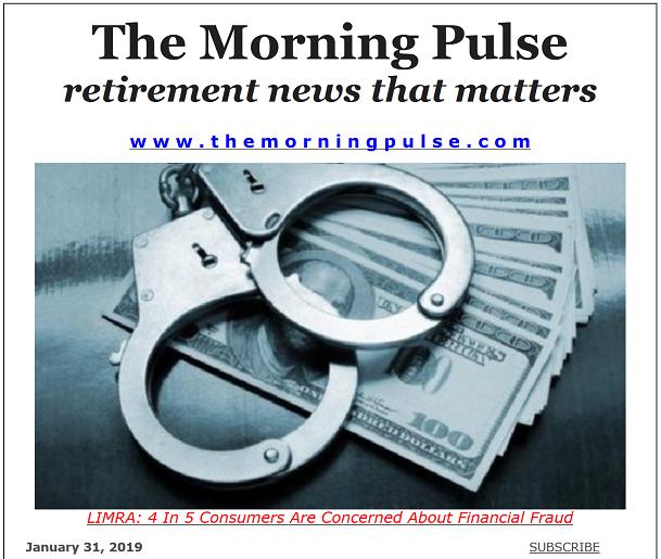 The Morning Pulse – January 31, 2019