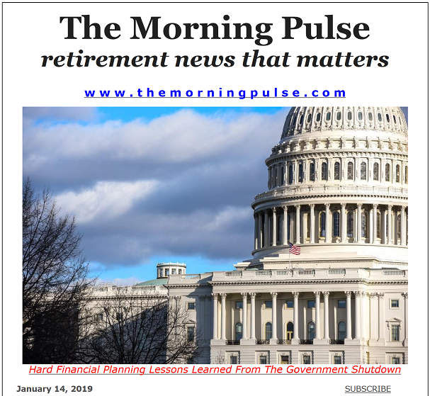 The Morning Pulse – January 14, 2019