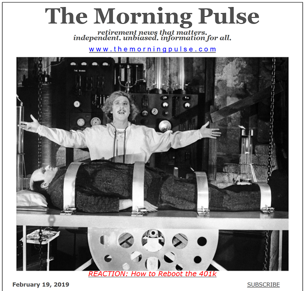 The Morning Pulse – February 19, 2019