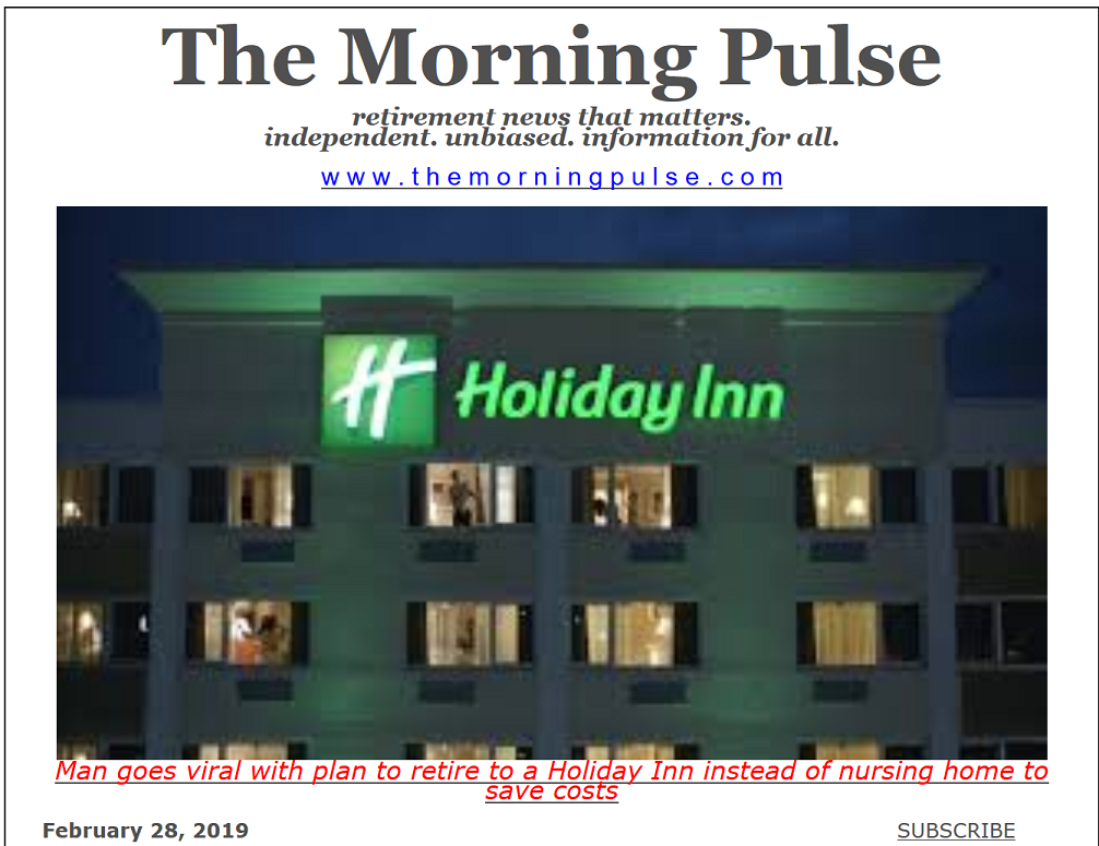 The Morning Pulse – February 28, 2019