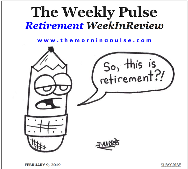 The Weekly Pulse – February 9, 2019