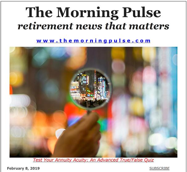 The Morning Pulse – February 8, 2019