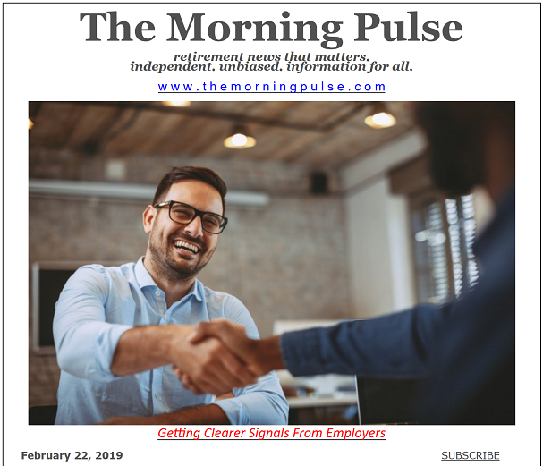 The Morning Pulse – February 22, 2019