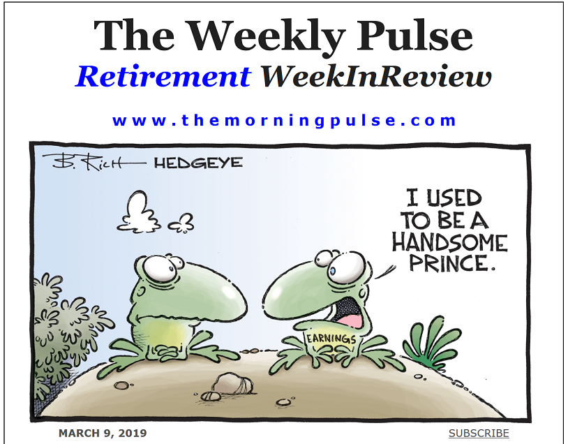 The Weekly Pulse – March 9, 2019