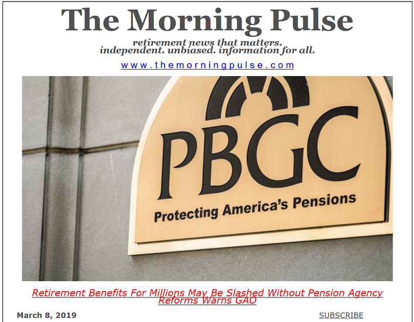 The Morning Pulse – March 8, 2019