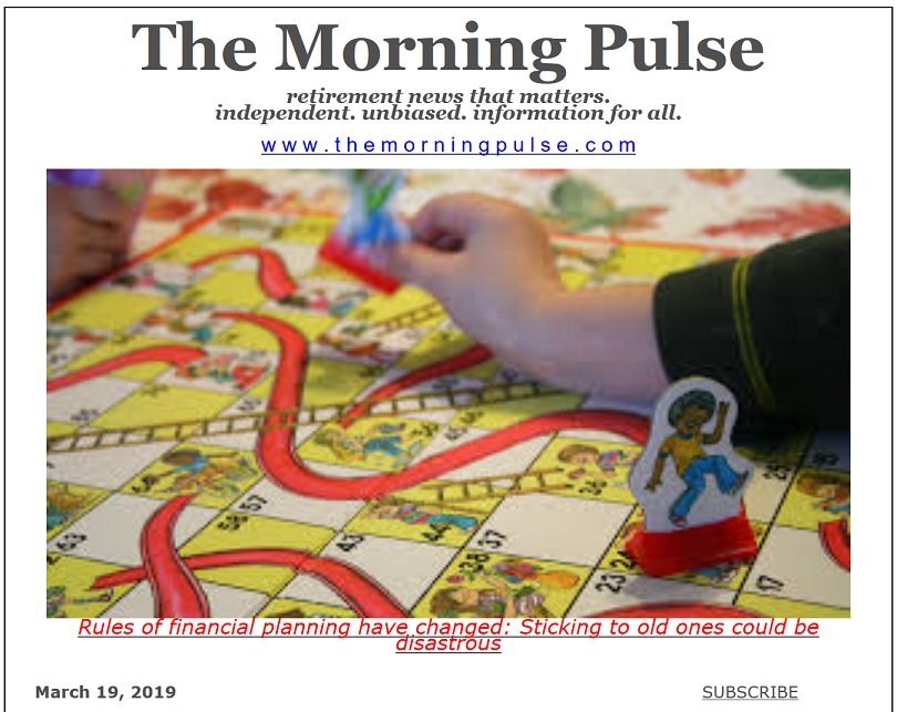 The Morning Pulse – March 19, 2019