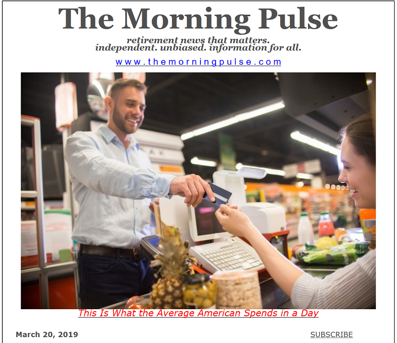 The Morning Pulse – March 20, 2019