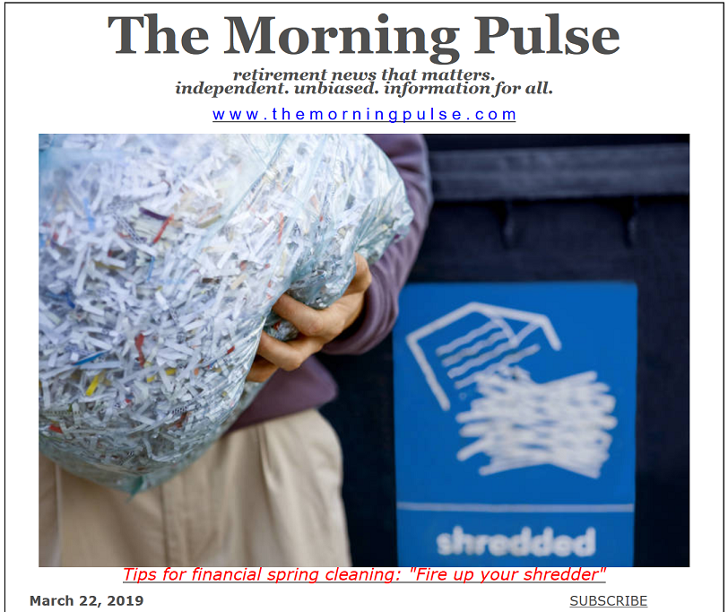 The Morning Pulse – March 22, 2019
