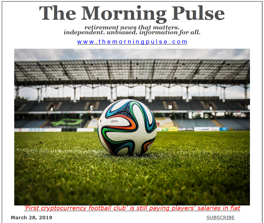 The Morning Pulse – March 28, 2019