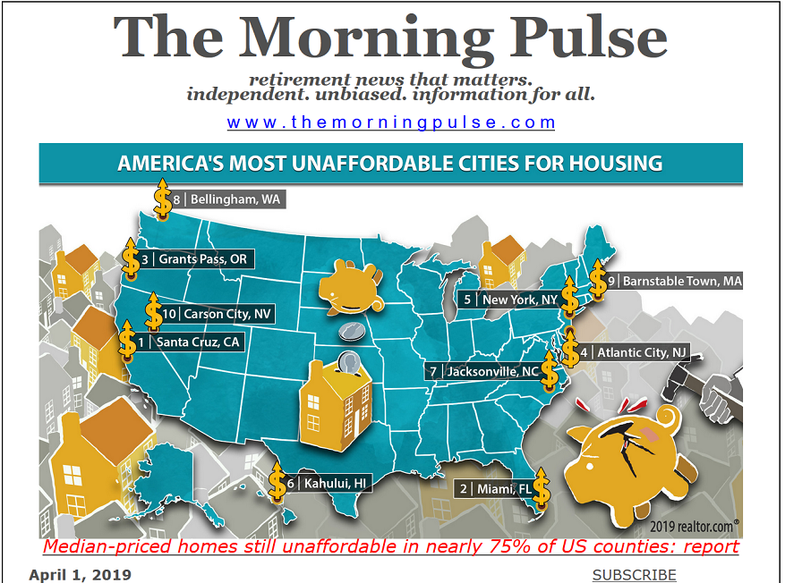 The Morning Pulse – April 1, 2019