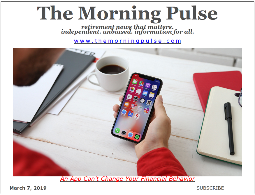 The Morning Pulse – March 7, 2019