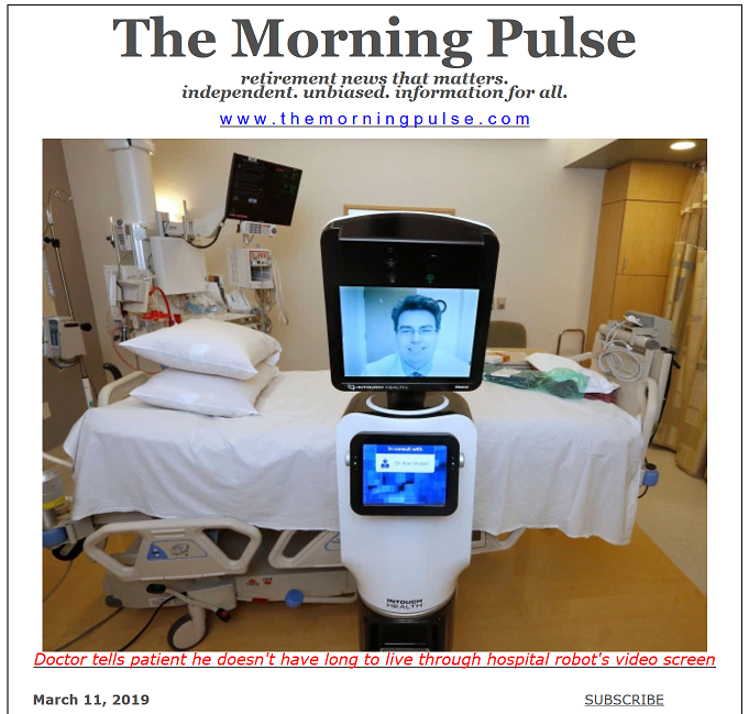The Morning Pulse – March 11, 2019
