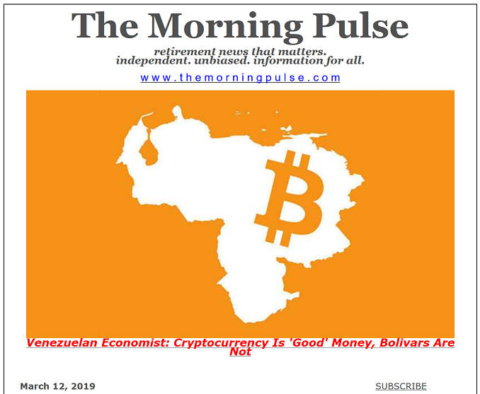 The Morning Pulse – March 12, 2019